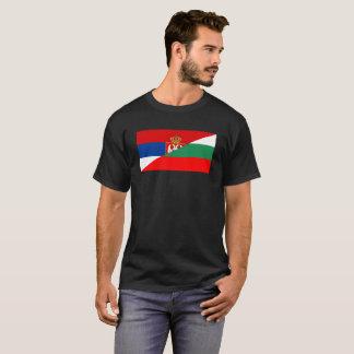 van het de vlagland van Servië Bulgarije het halve T Shirt