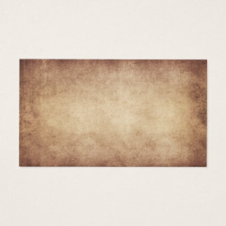 Van het Document van het vintage Perkament Antiek Visitekaartjes
