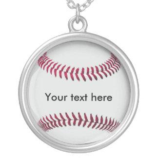 (Van het gepersonaliseerde) honkbal de Keten en de Ketting Rond Hangertje