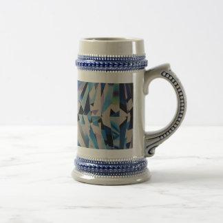 Van het glas van de Diamant Grijze/Blauwe 22 van Bierpul