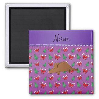 Van het het aardvarken de paarse snoep van de naam vierkante magneet