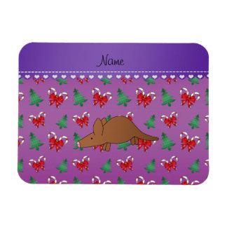 Van het het aardvarken de paarse snoep van de naam flexibele magneten