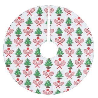 Van het het achtergrond tennispatroon van Kerstmis Kerstboom Rok