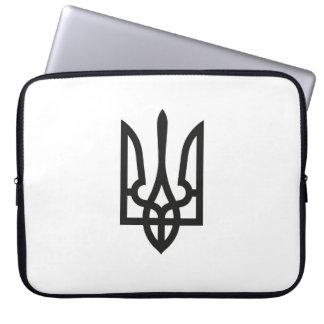 Van het het embleemland van de Oekraïne nationale Laptop Sleeve