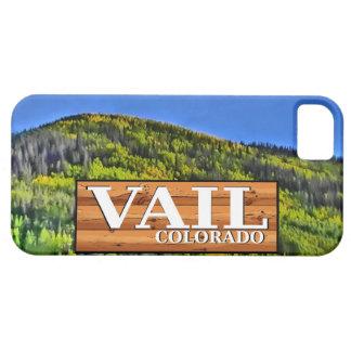 Van het het logboekteken van Colorado van Vail rus Barely There iPhone 5 Hoesje