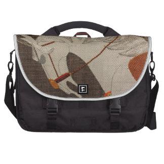 Van het het tapijtwerkpatroon van het paard de for laptop tas