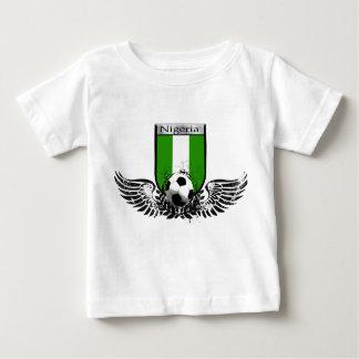 Van het het voetbalfootball van Nigeria Gevleugeld Baby T Shirts
