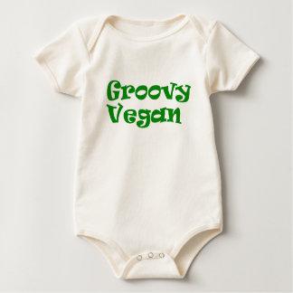 """Van het """"hip veganist"""" baby bodysuit"""
