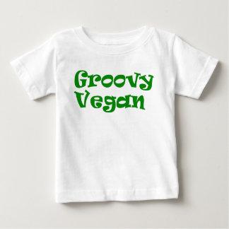 """Van het """"hip veganist"""" baby het overhemd baby t shirts"""
