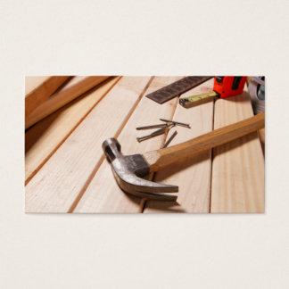 Van het huis het Remodelleren/van het Timmerwerk Visitekaartjes