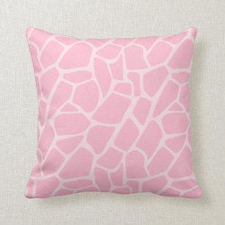 Van het oerwoud het Pink Pattern Decorative Sierkussen