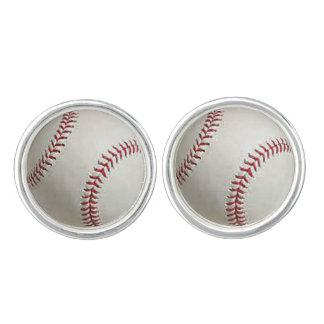 """Van het ontwerpjuwelen van het """"honkbal"""" de reeks manchetknopen"""