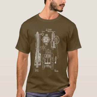 Van het Pistool van Gatling V.S.- Octrooi T Shirt