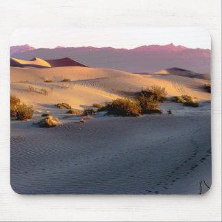 Van het zandduinen van Mesquite de Vlakke Vallei Muismat