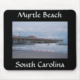 Van het Zuid- strand van de mirte Carolina bij Zon Muismatten