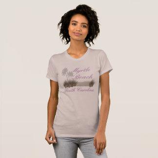 Van het Zuid- strand van de mirte Carolina - de T Shirt