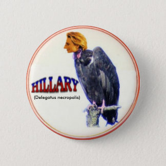 Van Hillary (necropool Delegatus) de Knoop Ronde Button 5,7 Cm