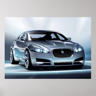 Van Jaguar c-xf- Poster