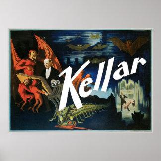~ Van Kellar het Vintage Magische Akte van de Poster