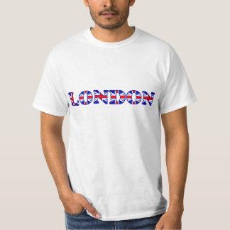 Van Londen de Brieven van de UK- Vlag T Shirt
