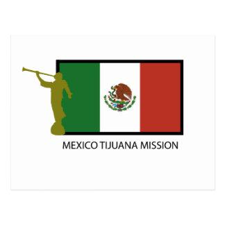 VAN MEXICO VAN DE TIJUANA- OPDRACHT LDS- CTR BRIEFKAART