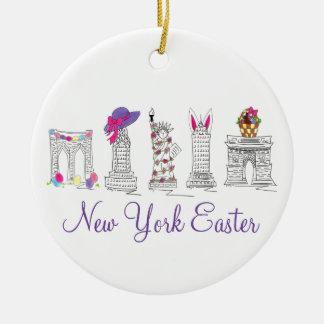 Van New York het Gelukkige Pasen Ornament van de