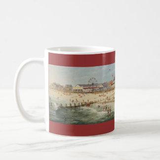 """Van Paul McGehee de """"het Panorama van het Strand Koffiemok"""