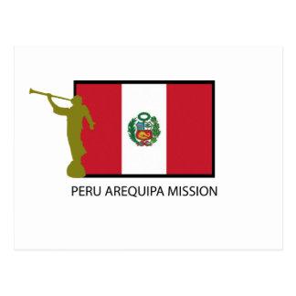 VAN PERU VAN DE AREQUIPA- OPDRACHT LDS- CTR BRIEFKAART