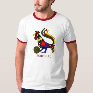 """Van Portugal barcelos """"galo"""" jogador DE futebol T Shirt"""