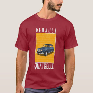 """Van Renault 4L de """"Quatrelle"""" T-shirt"""