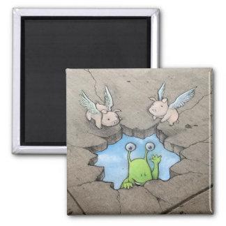 van sluggo skyhole (met varkens) de magneet
