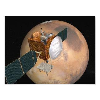 Van telecommunicatie Mars Orbiter Foto Afdruk