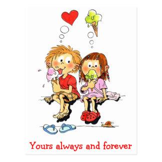 Van u altijd en voor altijd Grappige Valentijnse Briefkaart
