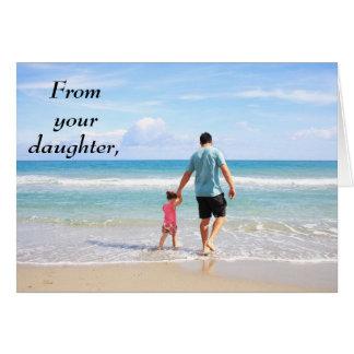 Van Uw Kaart van het Vaderdag van de Dochter