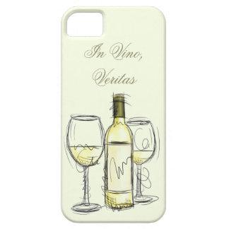 """van vinoveritas van de wijnfles iphonehoesje """"in"""" barely there iPhone 5 hoesje"""