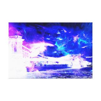 Van Violetkleurig van Amorem Amisi van de Canvas Afdrukken