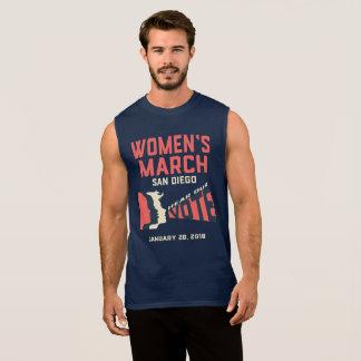 Van vrouwen de Officiële Maart Tank van Maart San