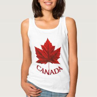 Van vrouwen het Gepersonaliseerde Canada Overhemd Tanktop