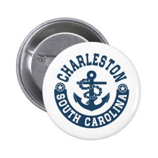 Van Zuid- Charleston Carolina Ronde Button 5,7 Cm