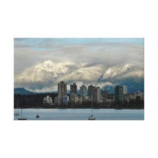 Vancouver Canvas Afdruk