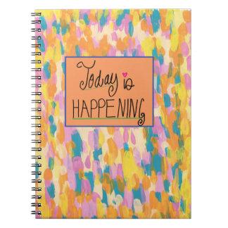 Vandaag gebeurt notitieboek