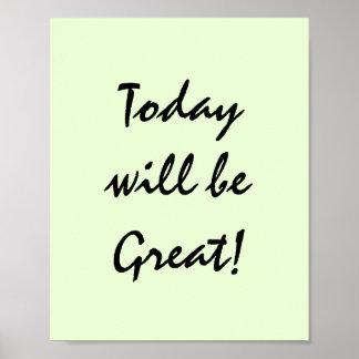 Vandaag zal Groot zijn! Poster