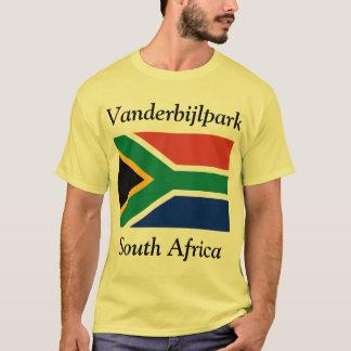 Vanderbijlpark, Zuid-Afrika met Vlag T Shirt