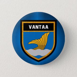 Vantaa Vlag Ronde Button 5,7 Cm