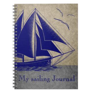 Varend Dagboek zeevaart Ringband Notitieboek