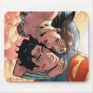 Variant van de Dekking van de superman/Wonder van Muismatten