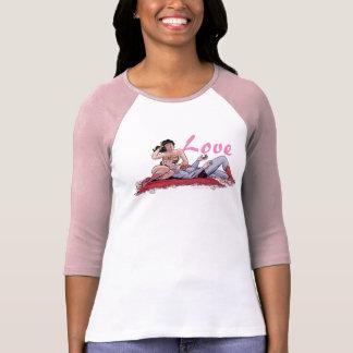 Variant van de Dekking van de superman/Wonder van T Shirt