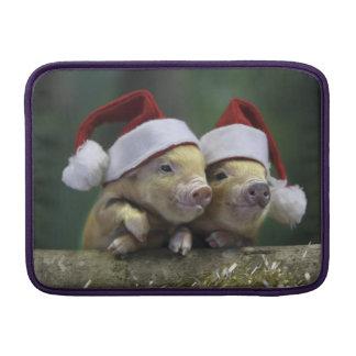 Varken de Kerstman - Kerstmisvarken - drie varkens Sleeve For MacBook Air