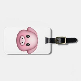 Varken - Emoji Bagagelabel