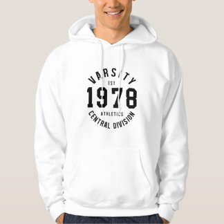 Varsity 1978 hoodie